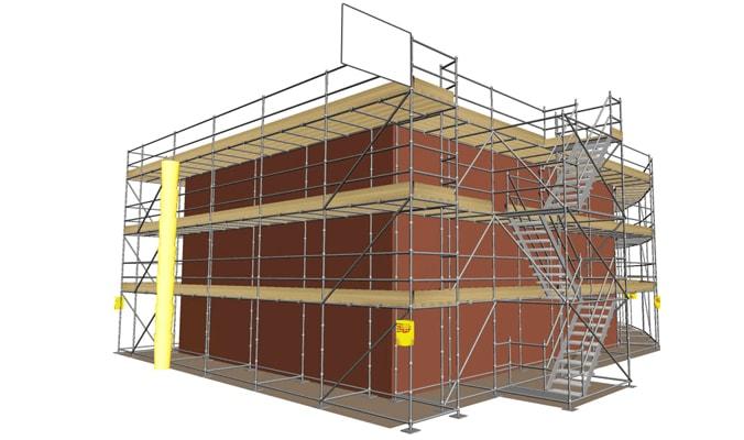 How is Scaffolding Designed-min
